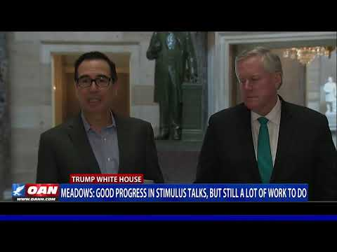 Meadows: Good progress in stimulus talks, but still a lot of work to do