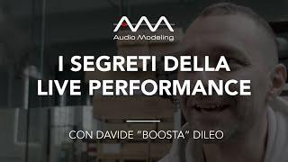 """Le Sfide Del Live - Intervista A Davide """"boosta"""" Dileo"""