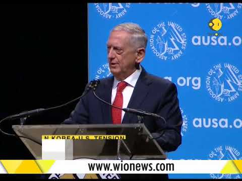 Defense Secretary James Mattis urges US army to be ready in case of war with North Korea