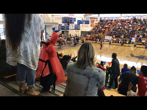 The second time of the diamond Ranch High School Rally