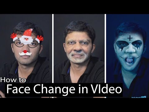 #Ae-32 Face Tracking and Face Change in Adobe After Effects (HINDI)