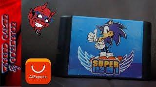 Sega Megadrive / Genesis - { 112 in 1 } Super Cart / Sonic Edition / Multi Game Card / Contra /