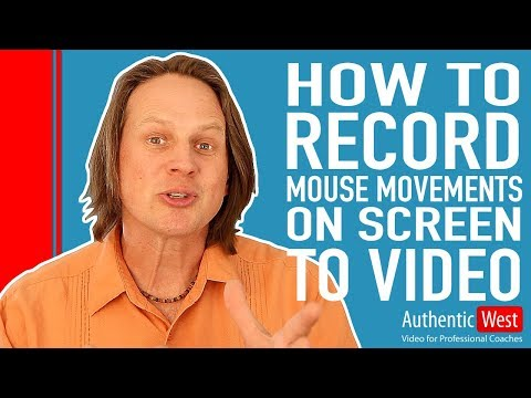 How to Record Mouse Movements on Screen to a Video | Brighton West Video