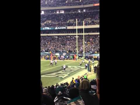 Nick Foles Touchdown Pass to Riley Cooper