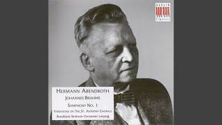 Symphony No. 1 in C minor, Op. 68: IV. Adagio - Piu andante - Allegro non troppo ma con brio