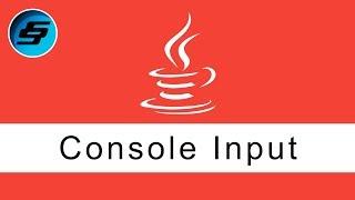 Console Input - Java Programming