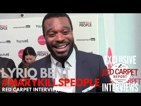 Lyriq Bent ed at the premiere of Lifetime's MaryKillsPeople