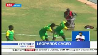George Abege netted a brace as Kariobangi sharks claims a win over AFC Leopards