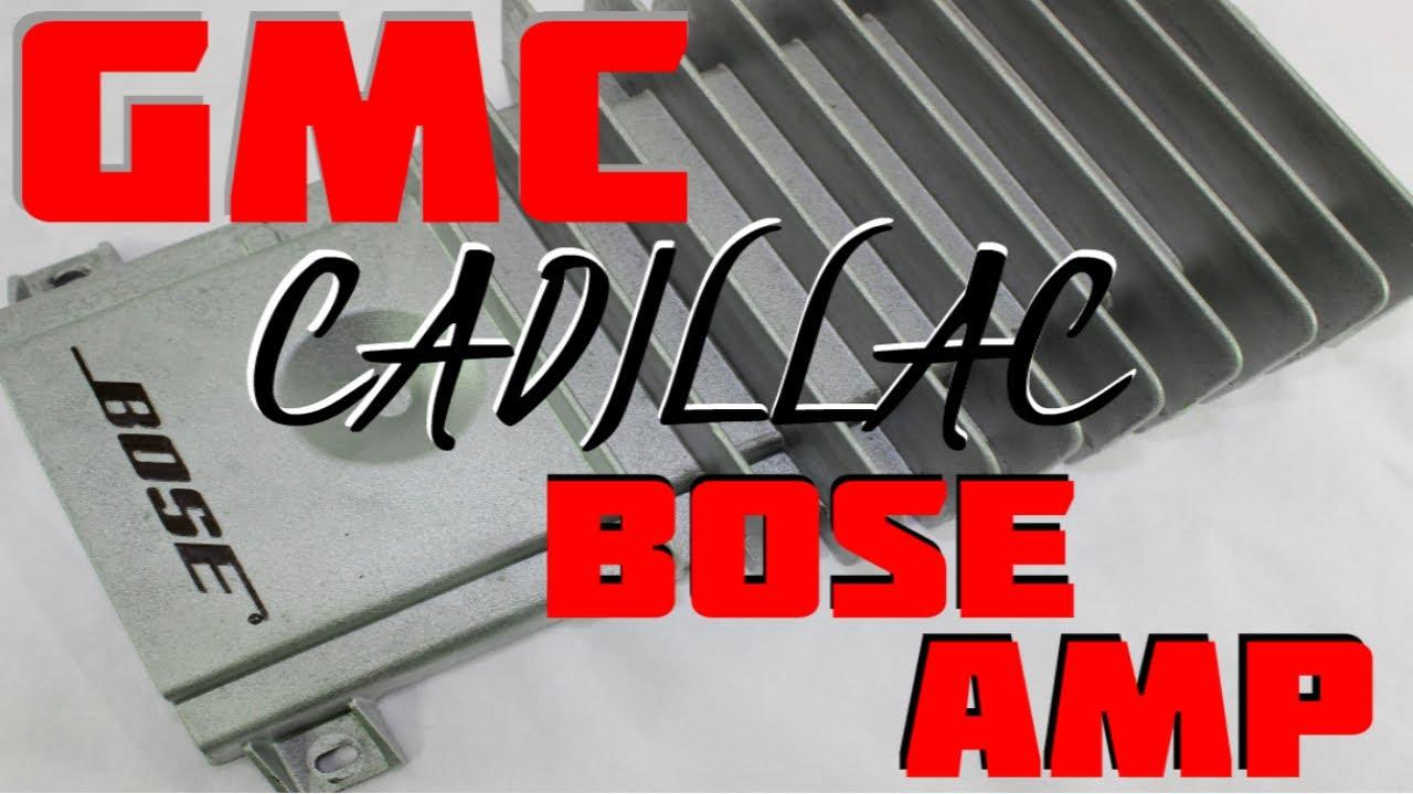 Gmc Yukon Radio Wiring Diagram 2001 Dodge Ram 1500 Alternator How To Replace Install Cadillac Bose Amp In A Escalade - Youtube