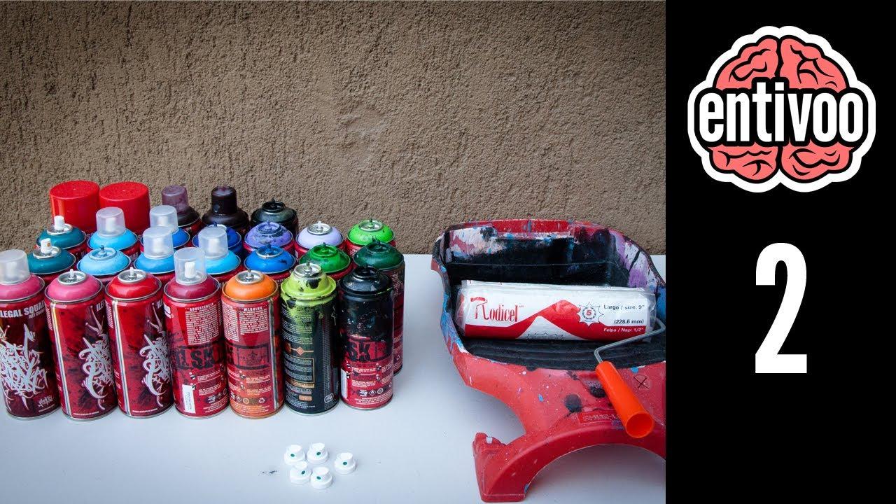 Descripci n de materiales necesarios para hacer graffiti - Materiales de pintura de pared ...