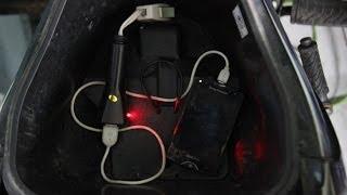 Hướng dẫn làm bộ sạc cho điện thoại từ nguồn xe máy
