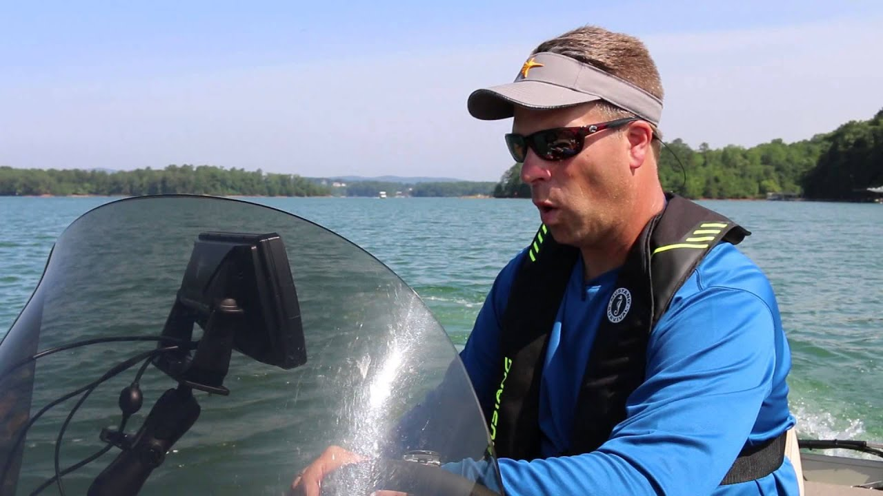 helix 7 with kolo on the water - youtube, Fish Finder