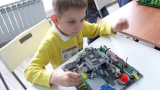Лего-пещера на вулкане