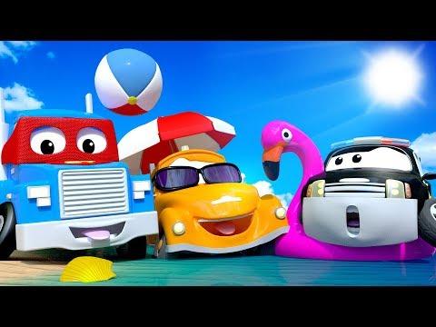 Autostad op vakantie Nederlands☀ Zomercompilatie 🚓 🚒  Zomercartoons voor kinderen