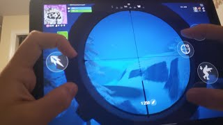 I am the best sniper on mobile here's why... ( Fortnite Mobile )