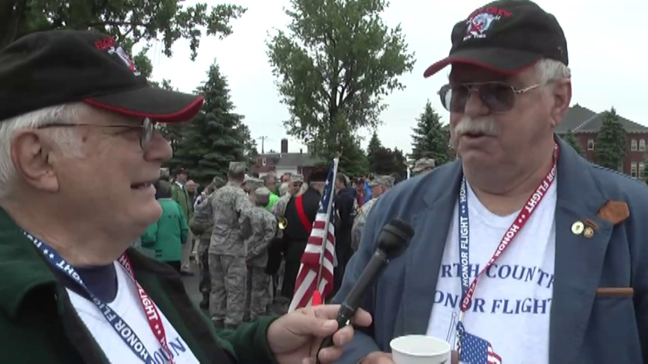 OLC - N. C. Honor Flight part one  6-8-13