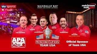 2017 Mosconi Cup - Meet Team USA