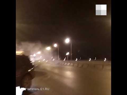 На Полевском тракте столкнулись 12 машин