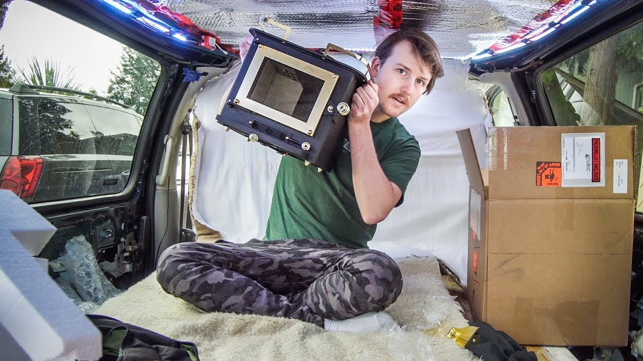 Cubic Mini Grizzly Wood Stove Unboxing And Review For Van Life