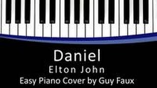 Daniel -- Elton John Easy Piano Cover by Guy Faux.mp3