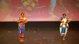 Ganeshstuti - Alarippu Fusion Bharatnatyam 2017  (Tamil Association of Edmonton, AB-Diwali 2017)