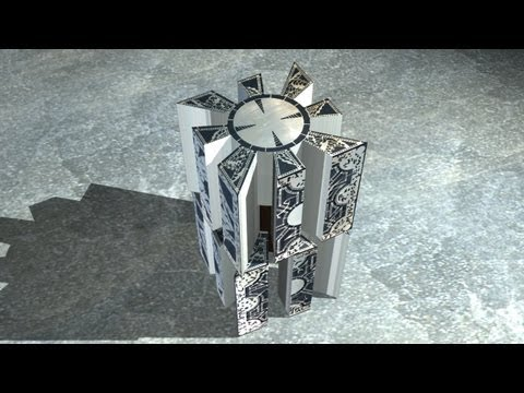Hellraiser Puzzle Box 3D - lament configuration - Render RM3