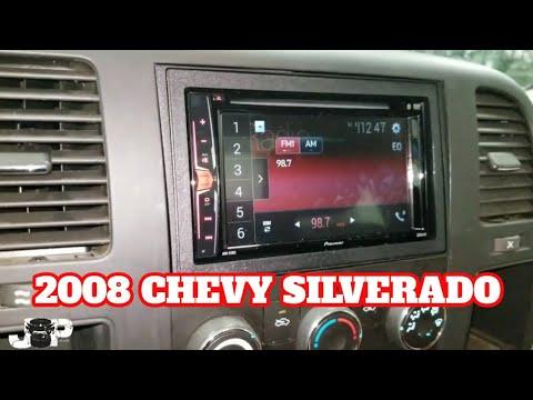 2008 Chevy Silverado Radio Removal