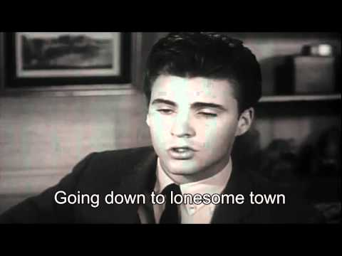 Ricky Nelson Lonesome Town Karaoke HD No Vocal