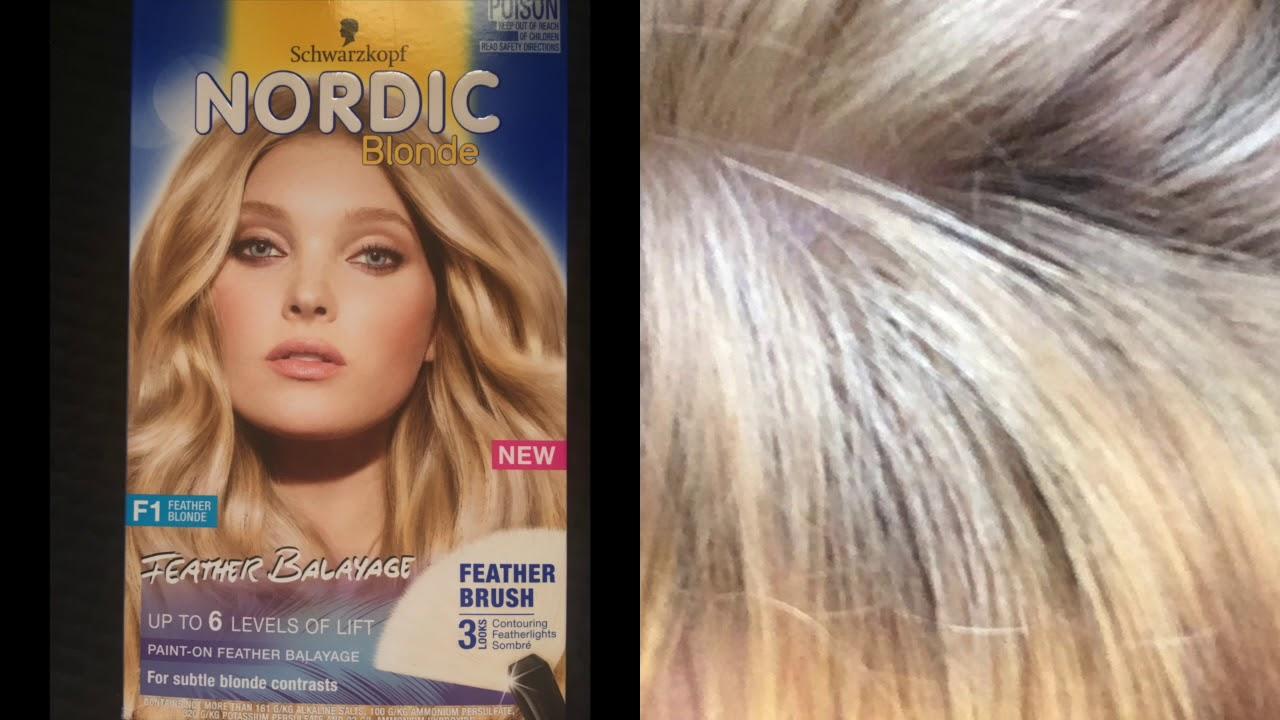 Schwarzkopf Blonde Feather Balayage