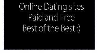 best free dating websites 2015-2016