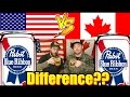 Difference USA Vs Canada Pabst Blue Ribbon mp3