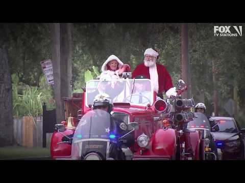 Mychal Maguire - Bay Area Children Ask Santa For Families' Basic Needs Instead Of Toys