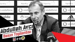 Alanyaspor Galibiyeti Sonrası Teknik Direktörümüz Abdullah Avcı'nın Basın Toplantısı - Beşiktaş JK