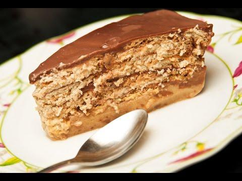 Como hacer Torta fria de Pudin Galletas Maria - YouTube