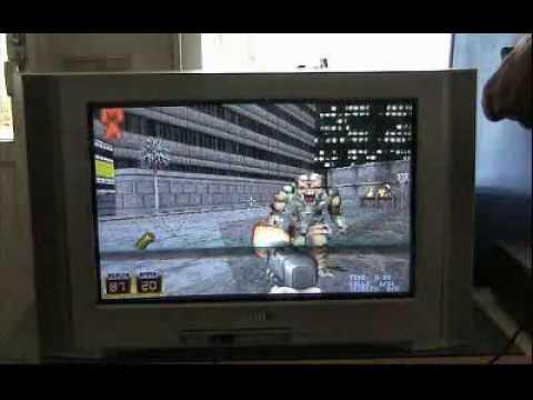 Nokia N93 - Playing Duke Nukem 3D (Really fast)