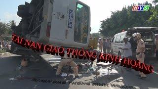 tai nạn giao thông khủng khiếp làm 8 người thương vong tại bến tre
