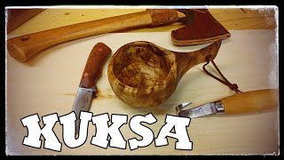Traditional Kuksa - Made the lazy (quick) way!