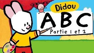 Apprendre l'Alphabet avec Didou | A à Z (Partie 1 et 2) HD , plus 🎨 ici ⬇⬇⬇