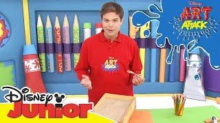 Art Attack Bastelclip #21 - Schatz | Disney Junior