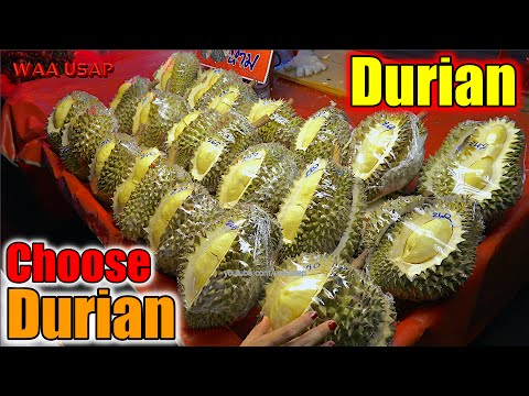 """King of Fruits - How to choose """"Durian"""" - Well done [Bangkok Thailand] 