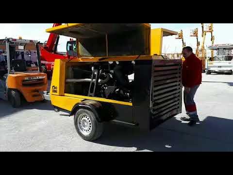 Compresor Diesel B.P. 10m3/Min San Luis Potosí MX