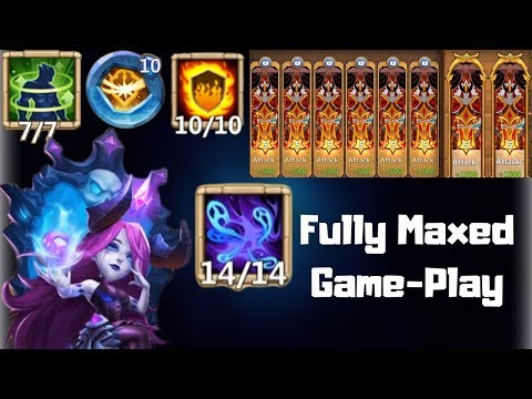 Bloody Mary | Fully Maxed | Game-Play | Castle Clash