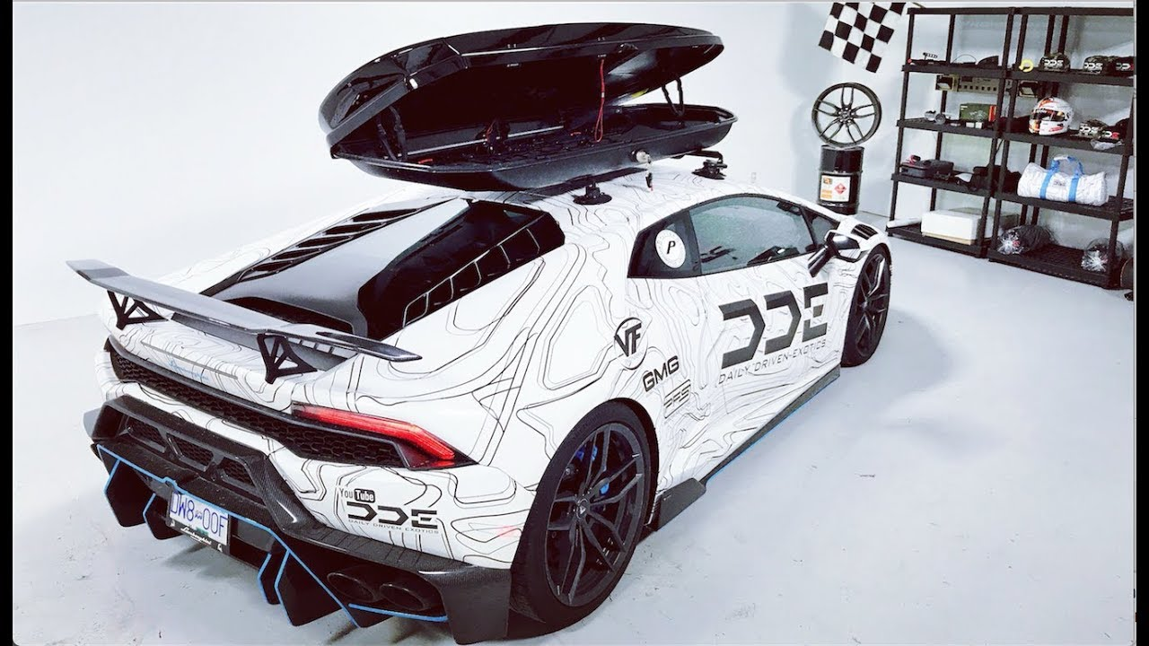 Real Talk The Lamborghini Ski Box Situation Youtube