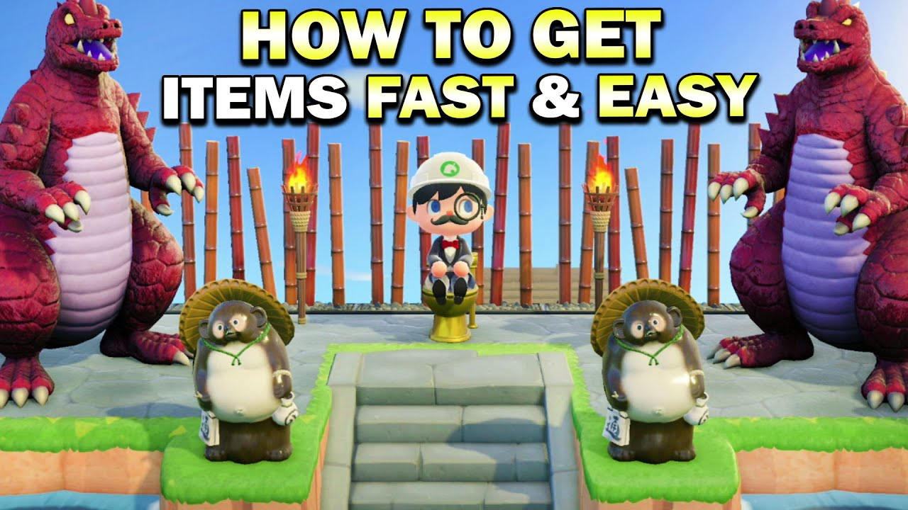 The Best Way To Get Items To Decorate Your Island In