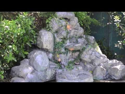 Cascadas piletas y fuentes de agua vendo novedosas y o for Cascadas artificiales para jardin