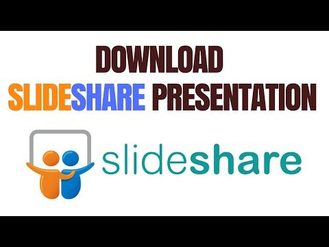 how to download slideshare presentation