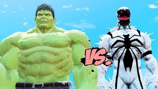 INCREDIBLE HULK VS ANTI-VENOM - EPIC BATTLE