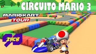 Mario Kart Tour - Copa Bebé Peach - SNES Circuito Mario 3 - Toad - ZACK90