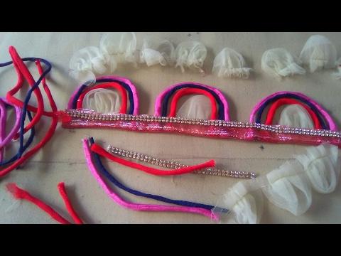 How To Make A Net Ke Phool &  Phoolon Ki Backneck Super Design