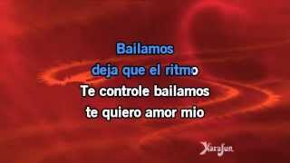Karaoke Bailamos (Spanish version) - Enrique Iglesias *
